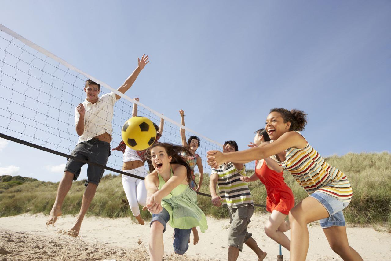 Kết quả hình ảnh cho bóng chuyền bãi biển